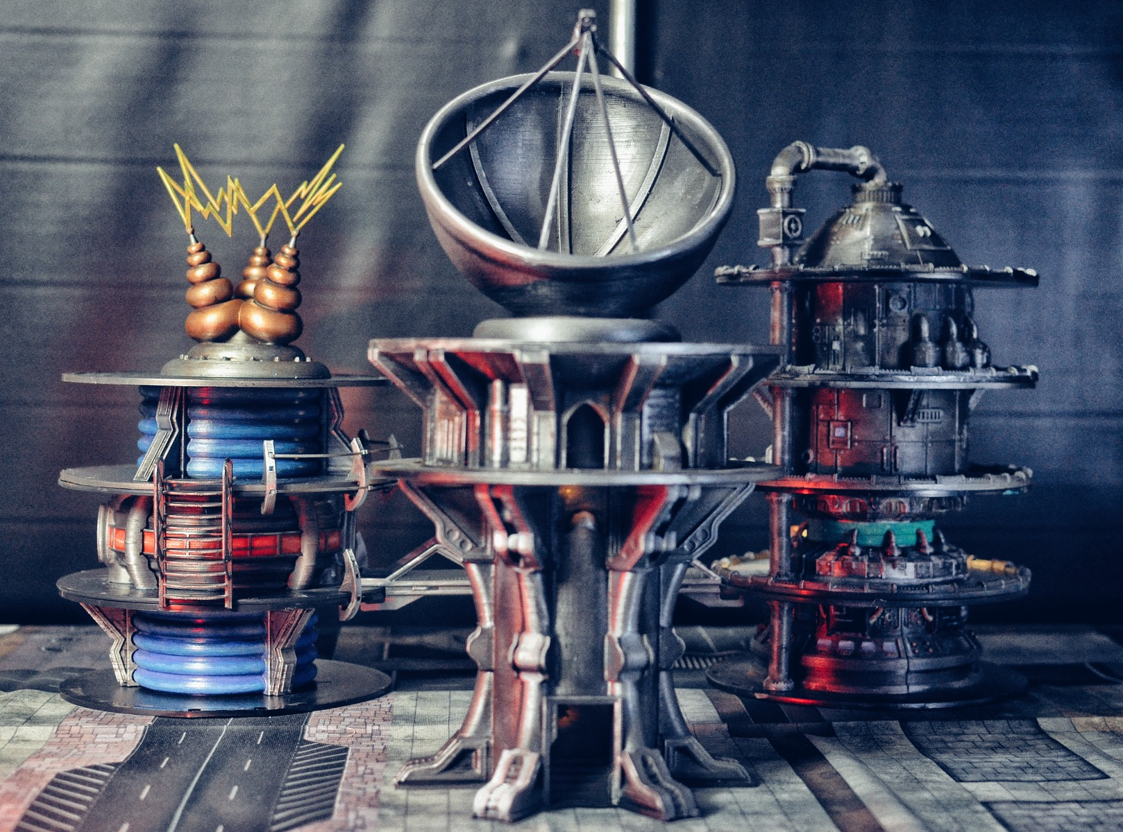 Creative recycled scenery for tabletop gaming