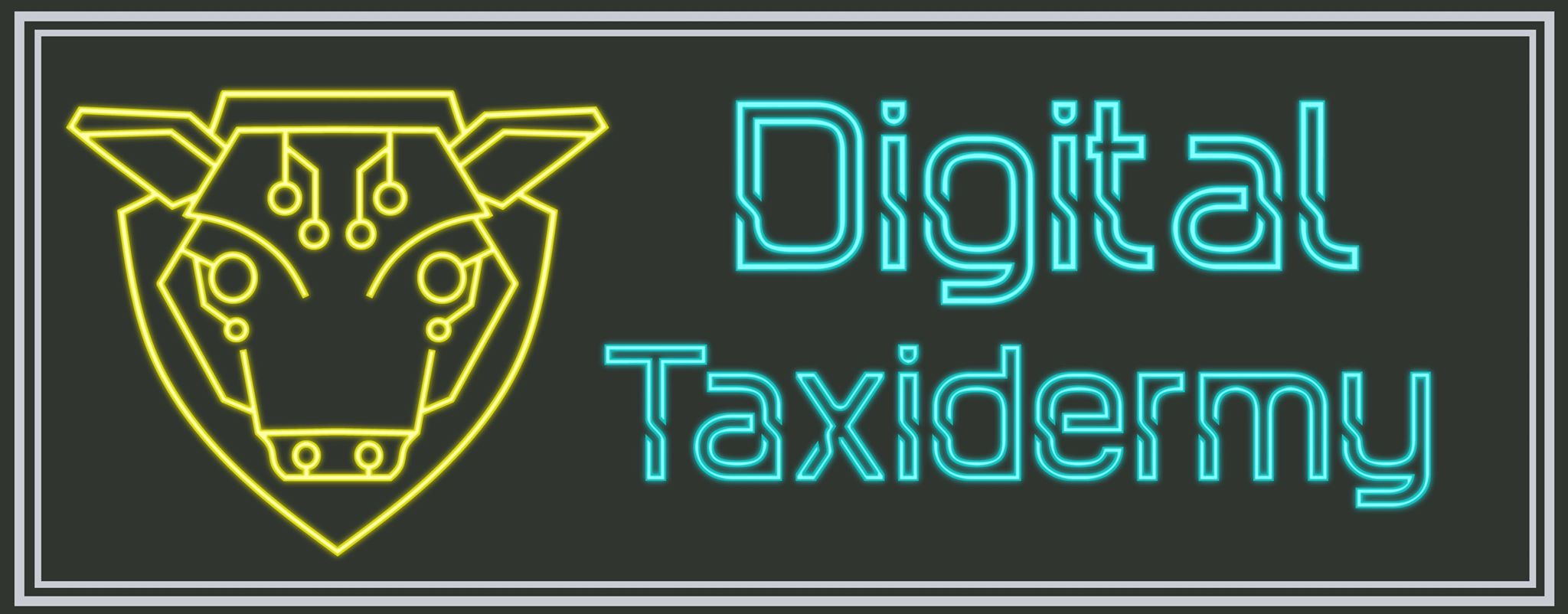 Digital Taxidermy - STL Files and 3D printed models for tabletop gaming