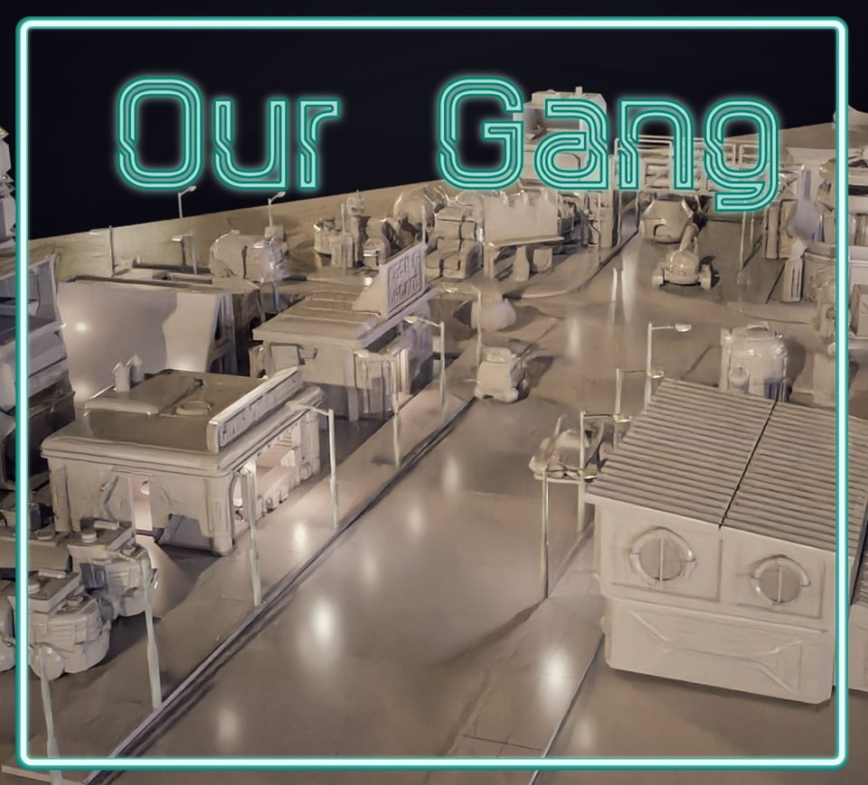 Sci-fi Short Story 008 - Our Gang